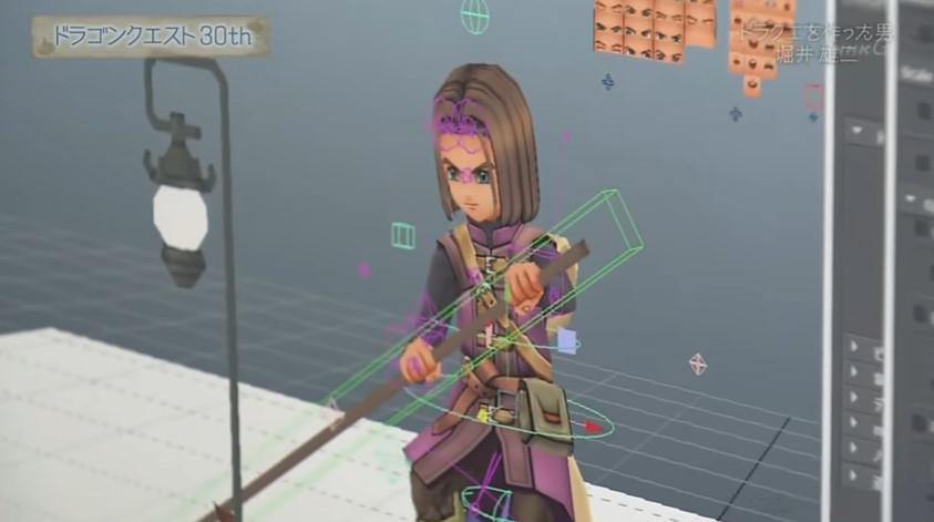 ドラクエ11キャラメイク画面